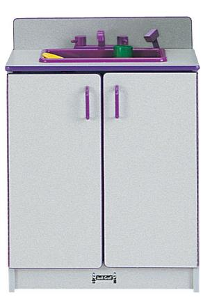 Jonti-Craft Rainbow Accents Play Kitchen Sink