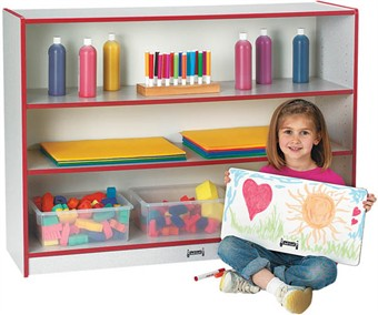 Jonti-Craft Rainbow Accents Super Size Adjustable Bookcase