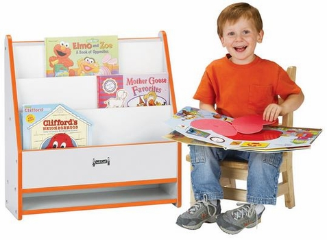 Jonti-Craft Rainbow Accents Toddler Pick-a-Book Stand