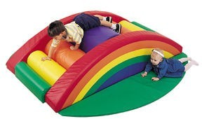 Rainbow Arch Climber w/ Safety Pads