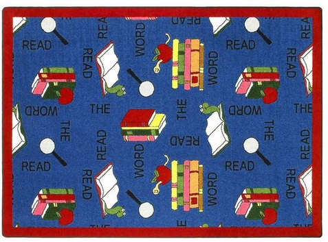 Read the Word Sunday School Rug 7'8 x 10'9 Rectangle