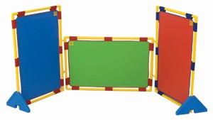 Rectangular Rainbow Play Panel Set