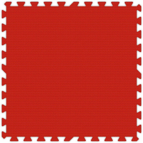 Red Foam Interlocking Tiles