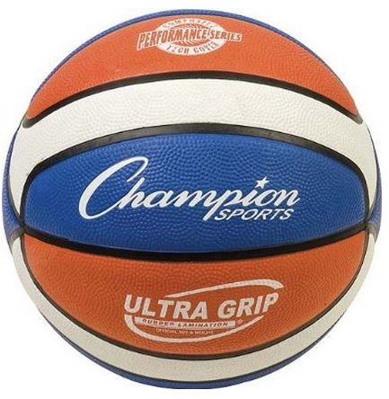 Red, White and Blue Performance Rubber Basketball