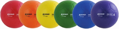 Champion Sports Rhino Skin Soccer Ball - Set of 6
