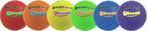Champion Sports Rhino Skin Super Squeeze Basketballs - Set of 6