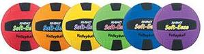 Champion Sports Rhino Soft-eeze Volleyball - Set of 6