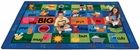 Rhyme Time Alphabet Classroom Rectangle Rug - Free Shipping