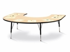 Jonti-Craft Berries Horseshoe Activity Tables - Classic