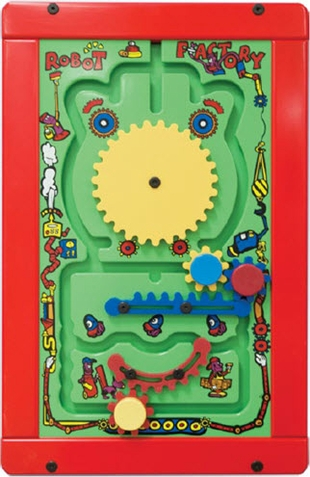 Robot Factory Wall Activity Toy