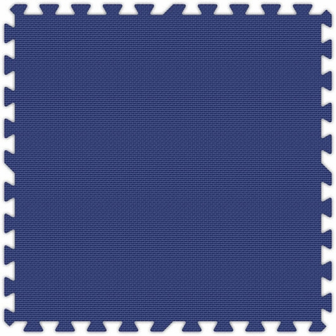 Royal Blue Foam Interlocking Squares