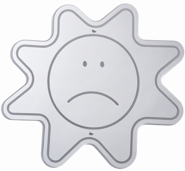 Whitney Brothers Sad Face Mirror