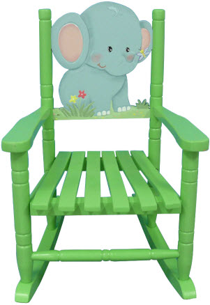 Safari Elephant Rocking Chair