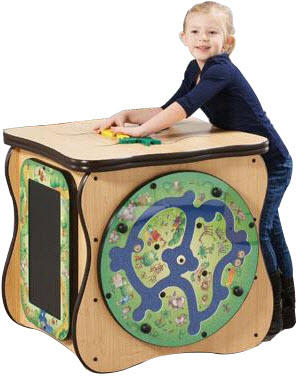 Safari Island Activity Cube
