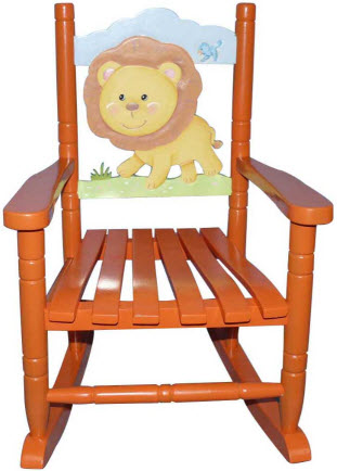 Safari Lion Rocking Chair