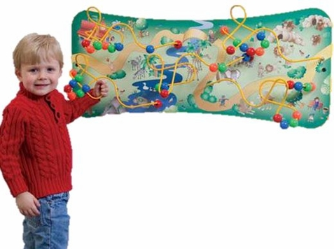 Safari Maze Wall Toy - Free Shipping
