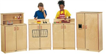 Jonti-Craft School Age Birch Kitchen for Classrooms