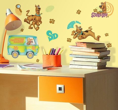 Scooby Doo Peel & Stick Wall Decals