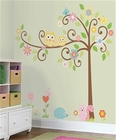 RoomMates Scroll Tree Wall Decal