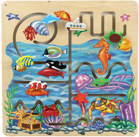 Anatex Sea Life Pathfinder Wall Panel Toy