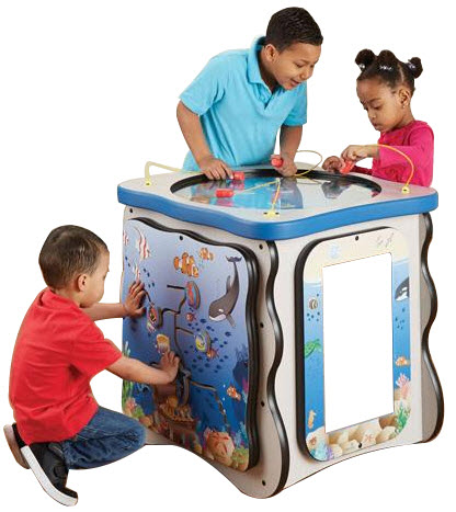 Seascape Island Activity Cube