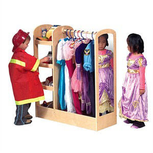 See and Store Dress Up Center in Natural - Out of Stock