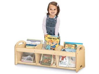 Jonti-Craft See Thru Toddler Book Browser by