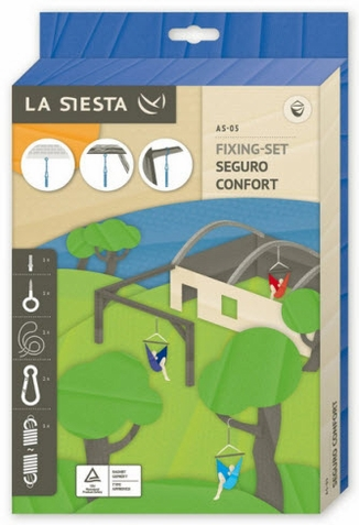La Siesta Seguro Confort Hanging Set for Swings and Hammock Chairs