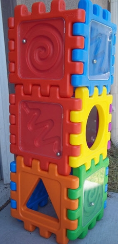 Sensory Play Activity Blocks - Free Shipping