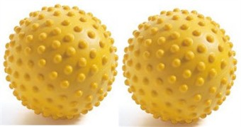Set of 2 10cm Fitball Sensory Therapy Balls
