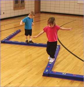 Set of 5 Educational Balance Beams