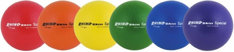 "Set of 6 8.5"" Foam Core Dodgeballs - Free Shipping"