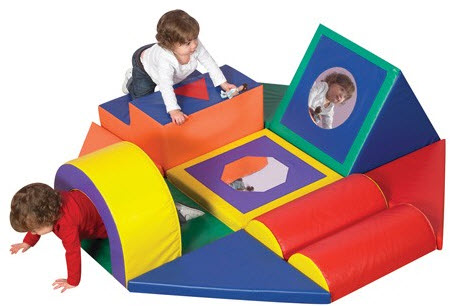 Shape & Play Soft Play Obstacle Course