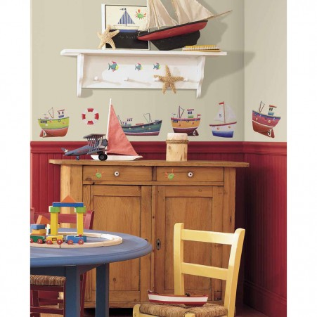 Ship Shape Peel & Stick Wall Decals - Free Shipping