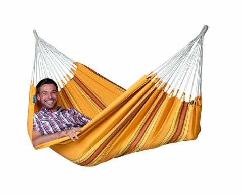 La Siesta Single Hammock Currambera Apricot