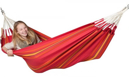 La Siesta Single Hammock Currambera Cherry
