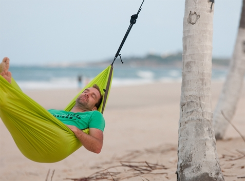 Single Travel Hammock Colibri Green - Free Shipping