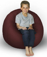 King Beany Smal Faux Fur Bean Bag