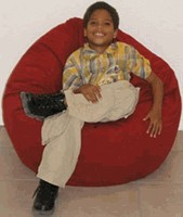 King Beany Small Brushed Cotton Bean Bag