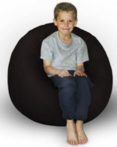 King Beany Small Ultra Suede Bean Bag