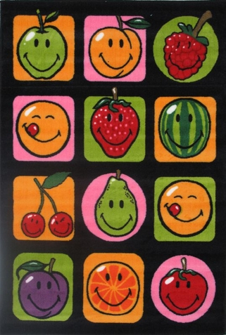 Smiley World Fruitti Rug - Free Shipping