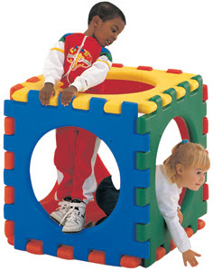 Giant Snap Cube Activity Toy