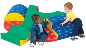 Snuggle Warren Soft Play Climber