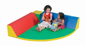 Soft Play Quarter Circle Restful Corner