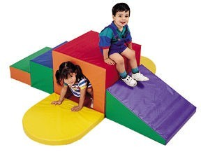 Soft Tunnel Climber for Young Children