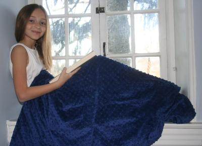 Soft Weighted Blanket with Removable Cover