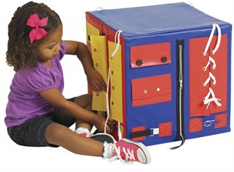 ECR4Kids SoftZone Dress Me Up and Learn Cube - Out of Stock