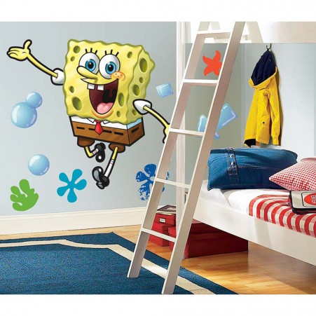Spongebob Peel & Stick Giant Wall Sticker