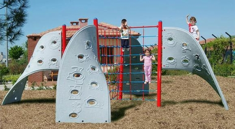 SportsPlay Four Panel Rope Aztec Climber - Free Shipping