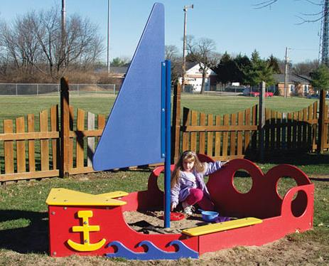 Sailboat Sandbox - Free Shipping
